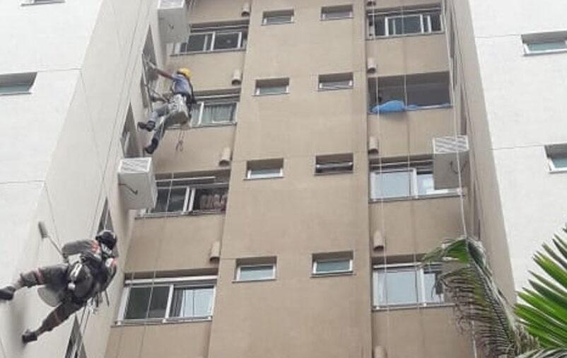 cuidar da fachada do prédio