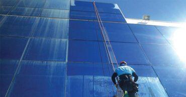 tipos de fachada com vidro